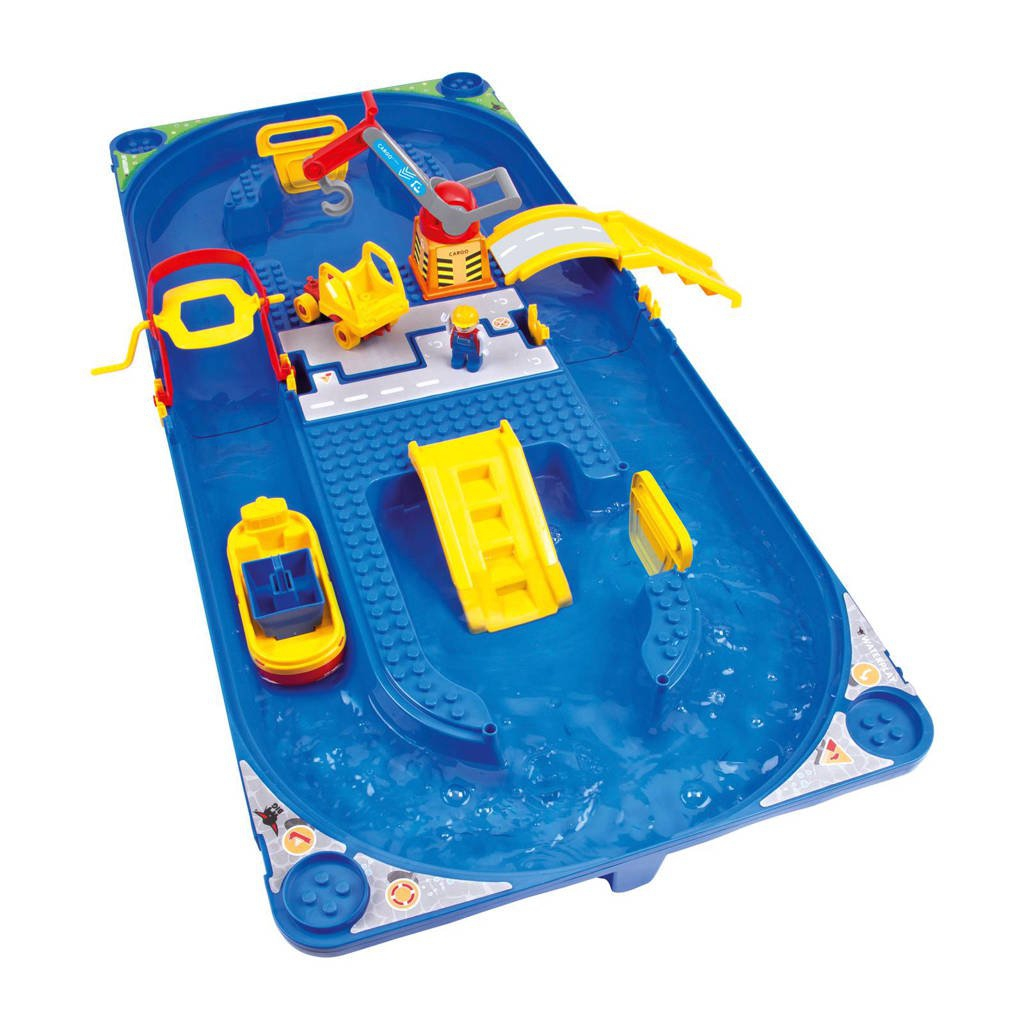Big waterbaan Waterplay Funland junior blauw 115 cm 16 delig