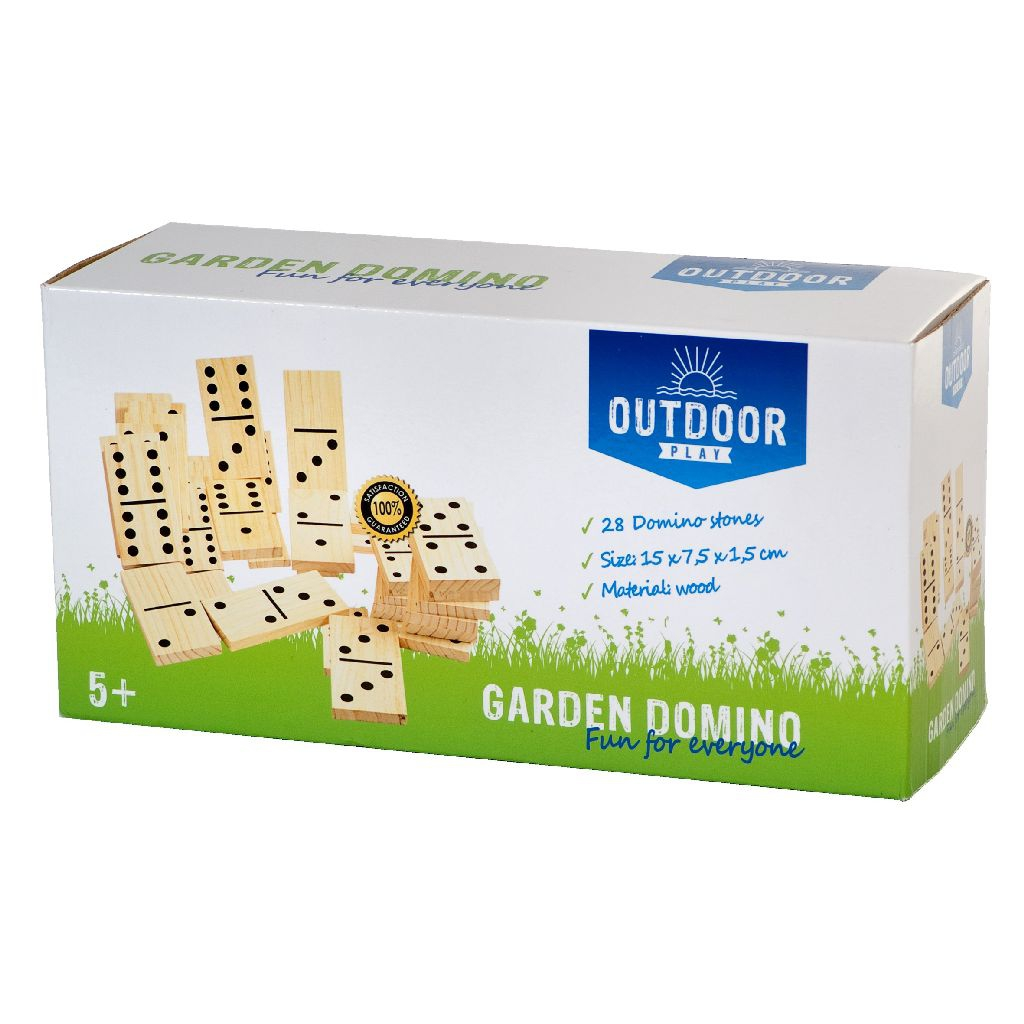 Image of Outdoor Play Domino Hout 28-delig 8712051205786