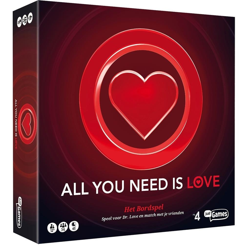 Image of Just Games - All You Need Is Love Bordspel 8718866300814