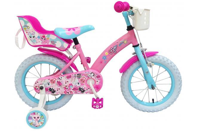 OJO Kinderfiets - Meisjes - Roze