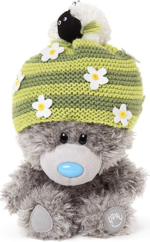 Pluche Me to You: my dinky bear sheep hat 19 cm
