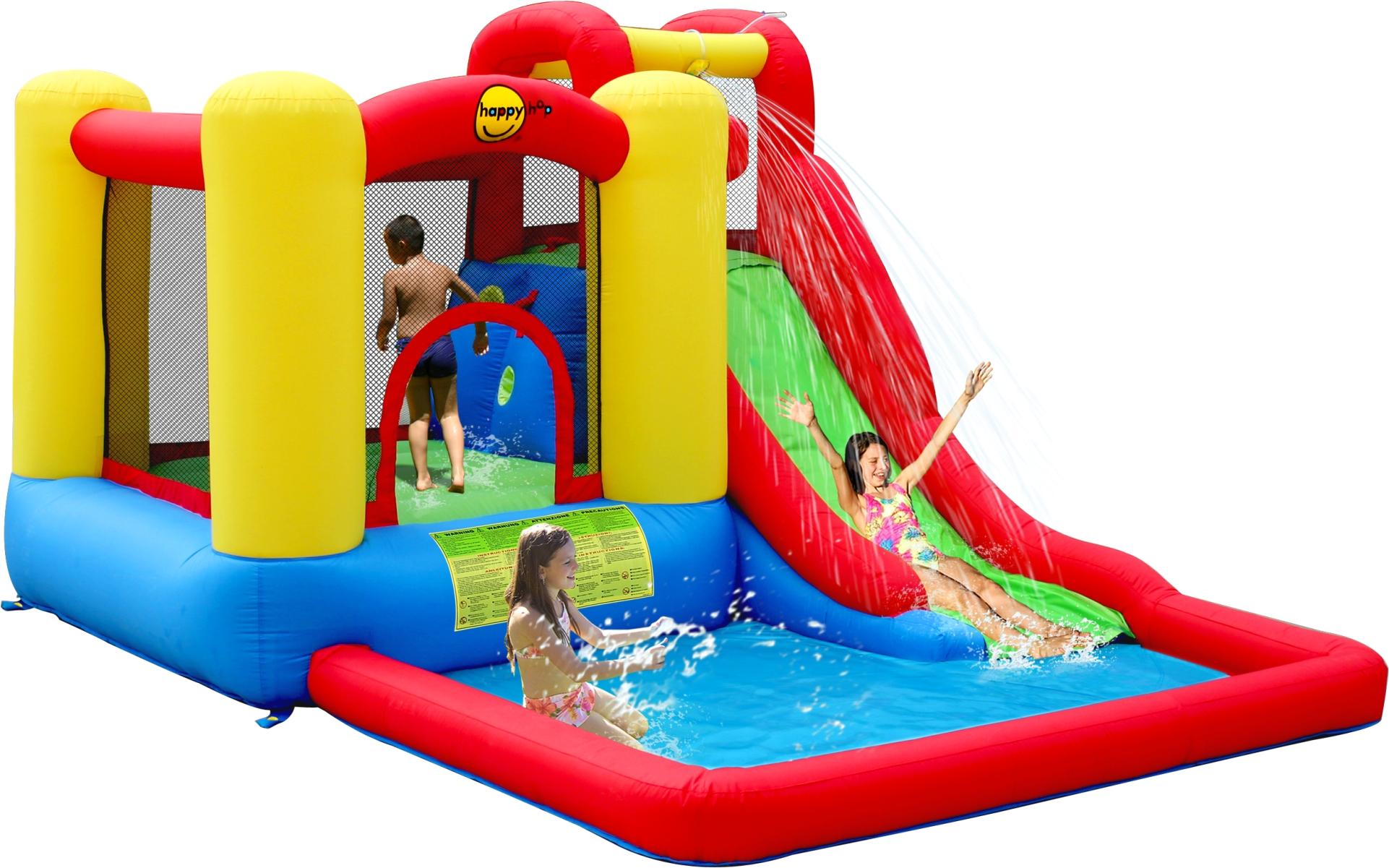 Springkussen Happy Hop Jump & Splash Adventure Zone
