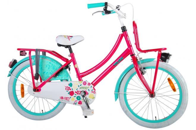 Volare Ibiza Kinderfiets - 20 inch - Rood/Blauw
