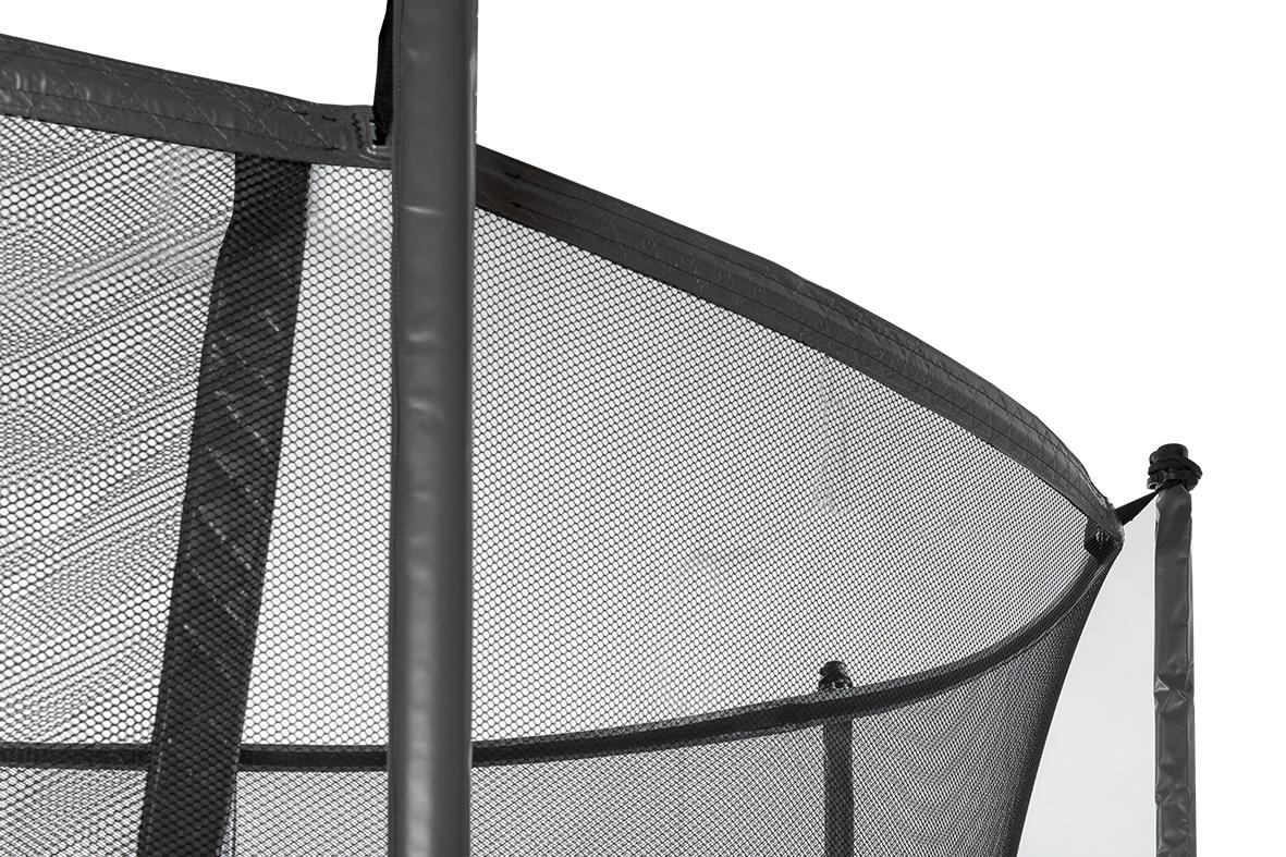 Los Veiligheidsnet tbv Ø 430 cm Grijs + glasfiber