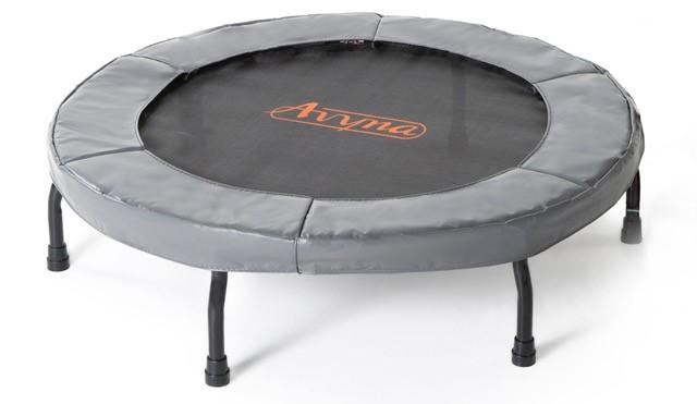 Fitness trampoline Ø 103 Grijs (40)