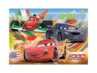 Cars World Grandprix puzzel 24 stukjes