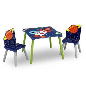 Alfie de Astronaut Tafel met 2 stoelen