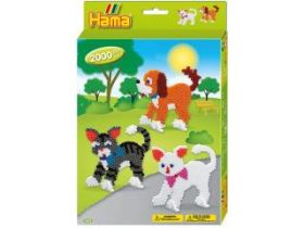 Hama Toys Dog And Cats 2000stuks