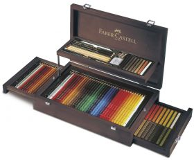 Faber Castell Kleurpotlood Art & Graphic Collection Luxe Koffer