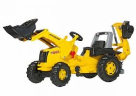 Rolly Toys RollyJunior NH Construction Tractor met Lader en Graafarm