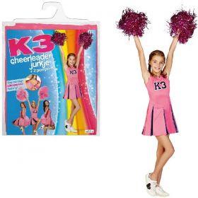 K3 Verkleedjurk Cheerleader - 6-8 jaar