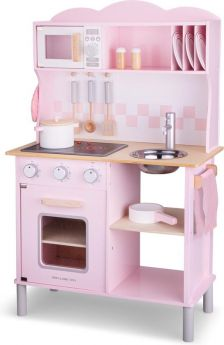 Keukentje New Classic Toys modern: roze: