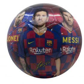 FCB Barcelona Voetbal met Messi-Print Maat 5