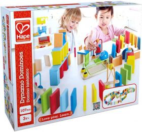 Hape Dynamo Dominoes 107-delig