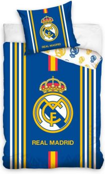 Dekbed real madrid stripes 140x200 cm