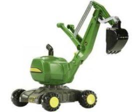 Rolly Toys RollyDigger John Deere Graafmachine Groen