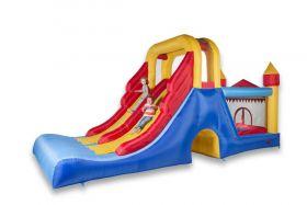 Avyna Double Mega Slide springkussen