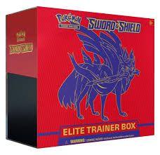 Pokémon Sword & Shield elite trainer box