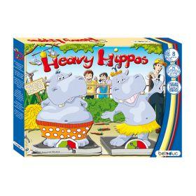 Heavy Hippos houten kinderspel