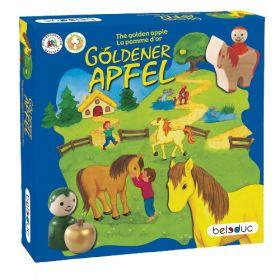 Houten spel De gouden appel