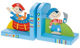 Simply for Kids Houten Piraten Boekensteunen