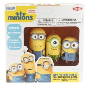 Minions Kegelspel Hit Them Out