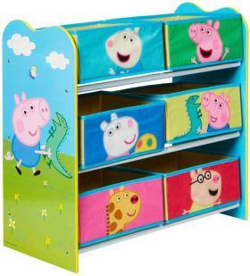 Opbergkast 6 vakken Peppa Pig