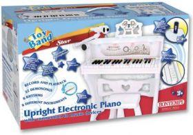 Piano Bontempi incl. kruk en microfoon