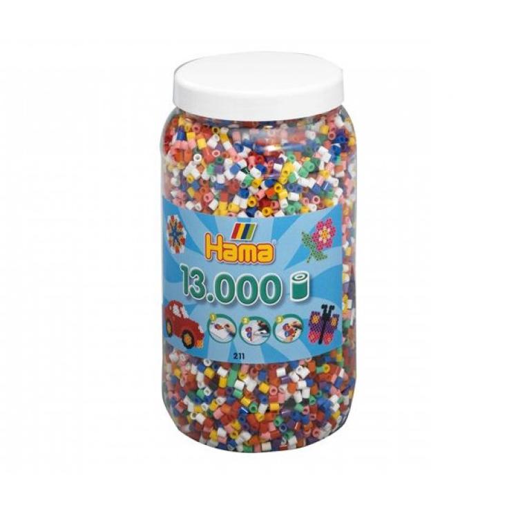 Hama Toys Pot Strijkkralen 13000 Stuks