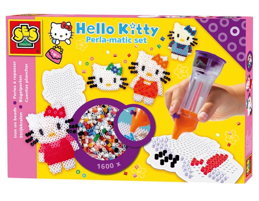 Hello Kitty Perla-matic Set Strijkkralen