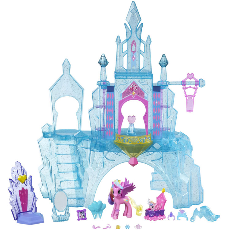 My Little Pony Kristallen Kasteel Speelset