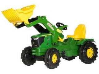Rolly Toys RollyFarmtrac John Deere Tractor met Lader