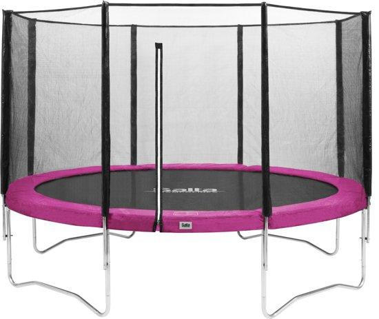 Salta Combo Trampoline 251 cm + Veiligheidsnet Roze