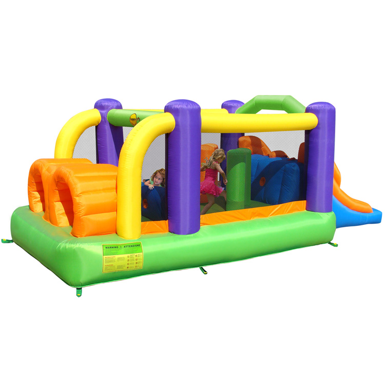 Springkussen Happy Hop Obstacle Course Bouncer