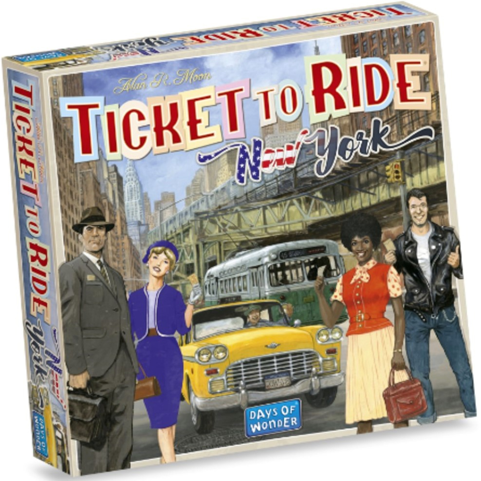 Image of Ticket to Ride New York - NL 0824968205600