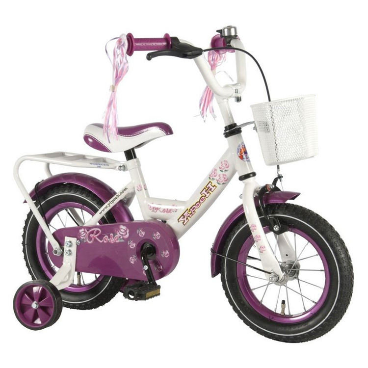 Yipeeh fiets roos 12 inch